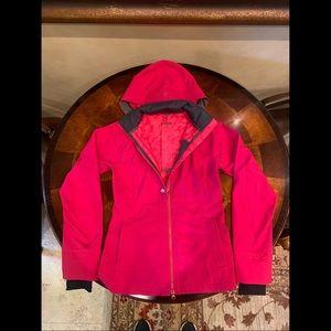 Lululemon Hot Pink Rain Jacket